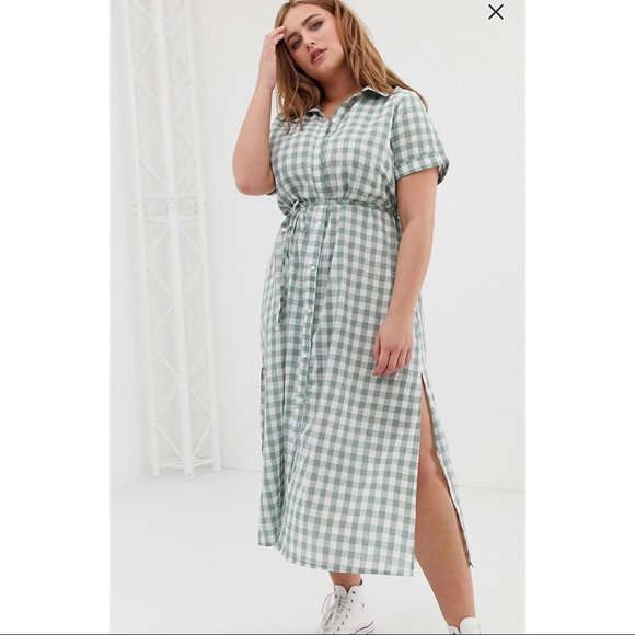 ASOS Curve Dresses & Skirts - ASOS CURVE MAXI SHIRT DRESS